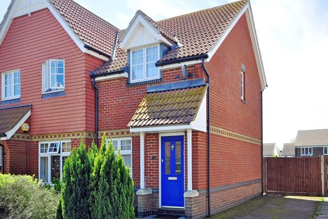 Thumbnail Semi-detached house to rent in William Rigby Drive, Minster On Sea, Sheerness