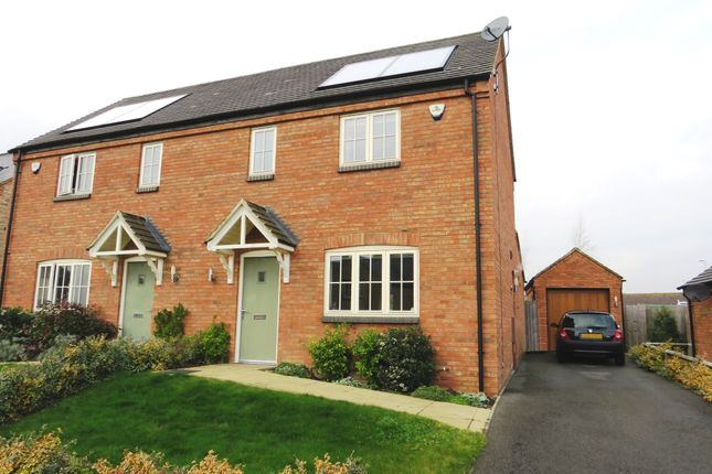 Thumbnail Semi-detached house for sale in Mansion Gardens, Potterspury, Northamptonshire