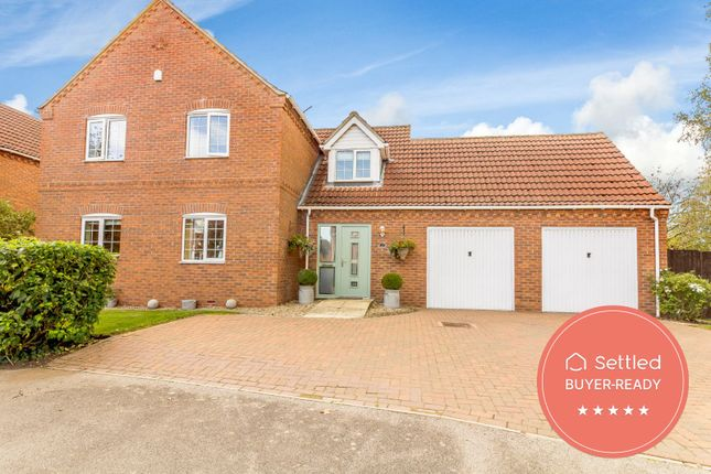 Thumbnail Detached house for sale in West Field Lane, Thorpe-On-The-Hill, Lincoln, Lincolnshire LN69Bf
