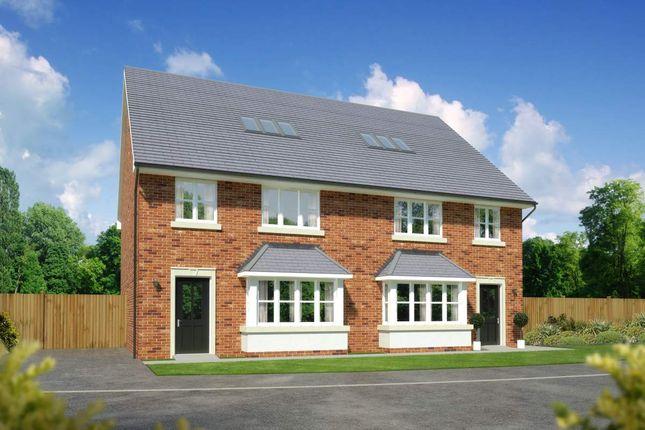"Thumbnail Semi-detached house for sale in ""Kellingwood"" at Padgbury Lane, Congleton"