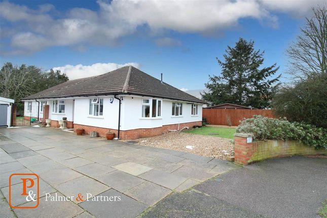 Thumbnail Detached bungalow for sale in Kingsfield Avenue, Ipswich