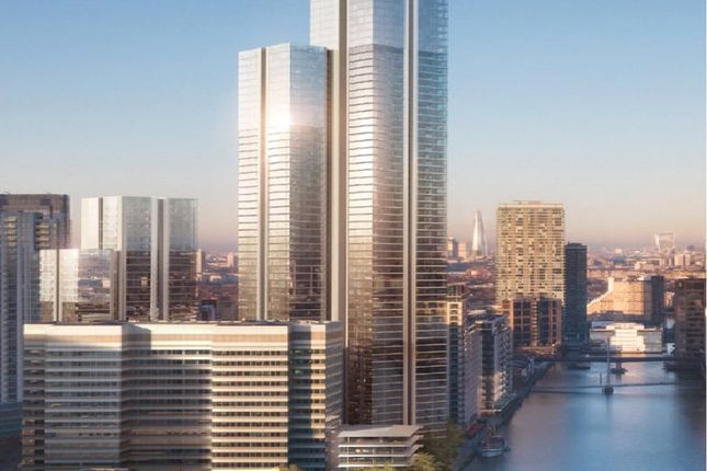 Thumbnail Flat for sale in South Quay Plaza, Marsh Wall, Canary Wharf, London