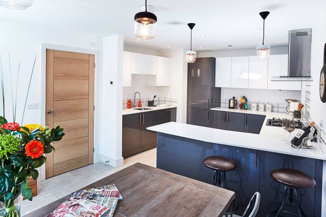 Thumbnail End terrace house for sale in Old Mustard Mews, Newport Pagnell