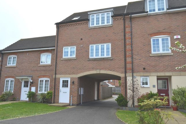 Thumbnail Town house for sale in Threadcutters Way, Shepshed, Loughborough