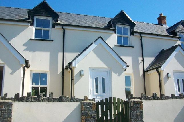 Thumbnail Terraced house for sale in Plot 2 Hays Lane, Sageston, Tenby, Pembrokeshire.