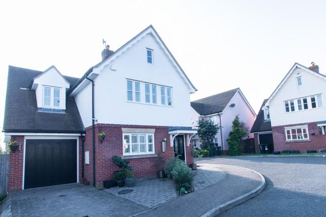 Thumbnail Detached house for sale in Mill Grove, High Ongar, Ongar