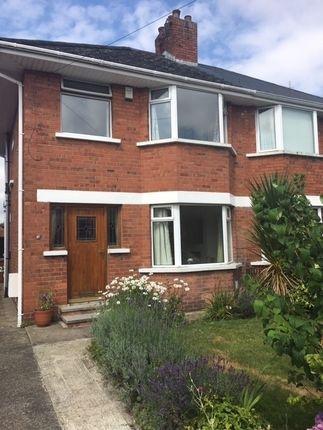 Thumbnail Semi-detached house to rent in Mount Merrion Park, Belfast