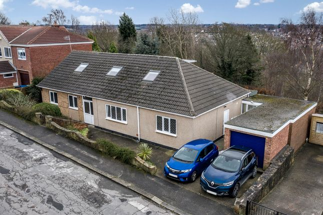 Thumbnail Detached bungalow for sale in Alexandra Road East, Spital, Chesterfield