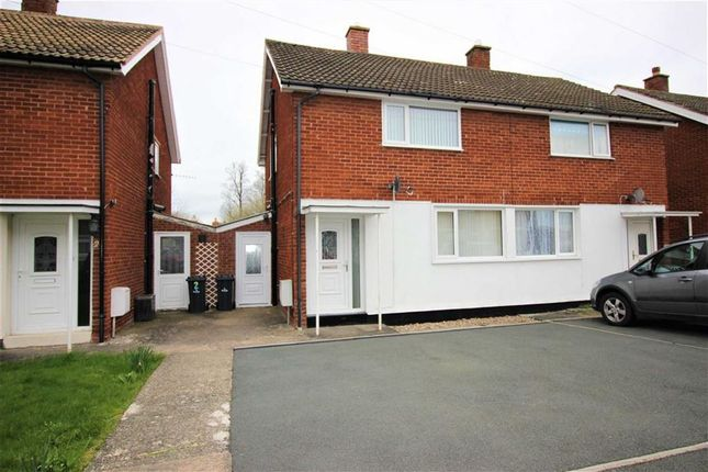 Thumbnail Semi-detached house for sale in 3, Oldford View, Welshpool, Powys