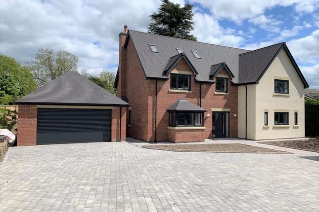 Thumbnail Detached house for sale in New House At Farcross, London Road, Woore