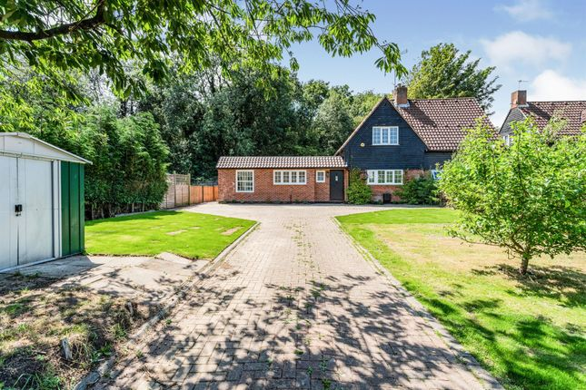 Semi-detached house for sale in Hertford Road, Digswell, Welwyn