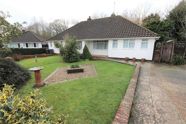 Thumbnail Semi-detached bungalow for sale in Brookside Avenue, Polegate, East Sussex