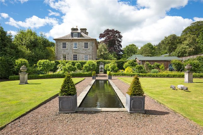 Thumbnail Equestrian property for sale in Orchard House, Hawick, Roxburghshire
