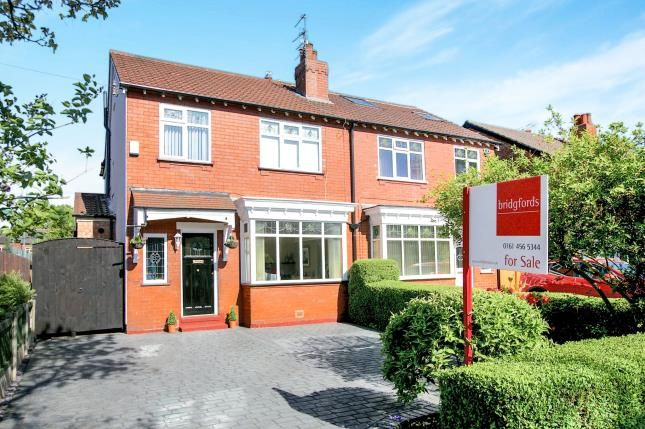 Thumbnail Semi-detached house for sale in Glenwood Grove, Woodsmoor, Stockport, Cheshire