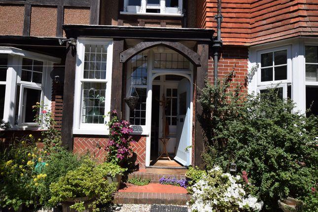 Entrance of Park Lane, Eastbourne BN21