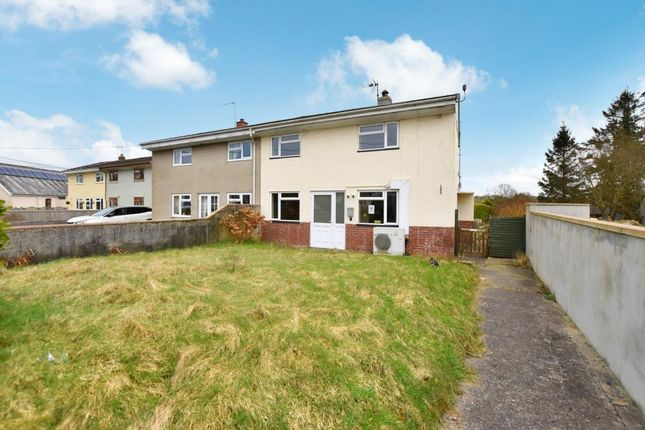 Thumbnail Semi-detached house for sale in Moor View, Northlew, Okehampton