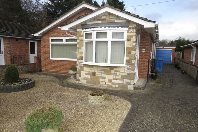 Thumbnail Detached bungalow for sale in Mossfield Close, Norwich