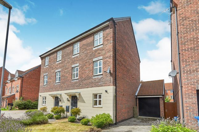 4 bed semi-detached house to rent in Girton Way, Mickleover, Derby DE3