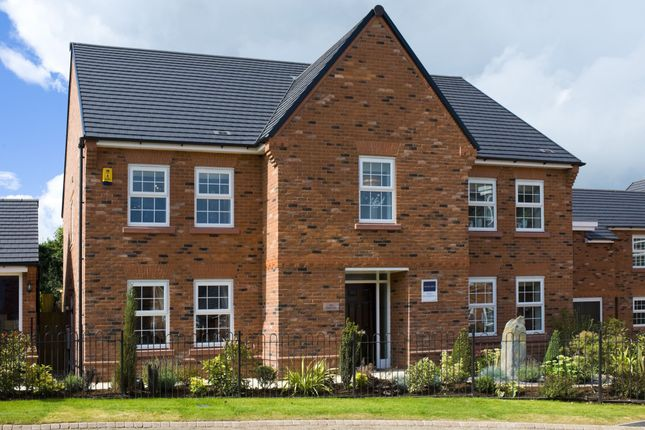 "Thumbnail Detached house for sale in ""Glidewell"" at Wright Close, Whetstone, Leicester"