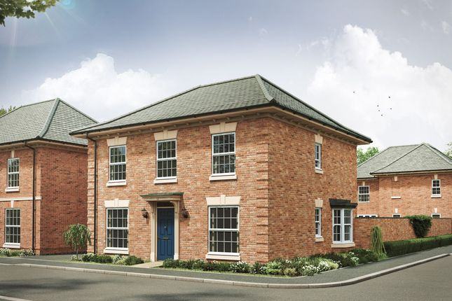 """4 bed detached house for sale in """"The Barnwell Georgian"""" at Davidsons At Wellington Place, Leicester Road, Market Harborough LE16"""