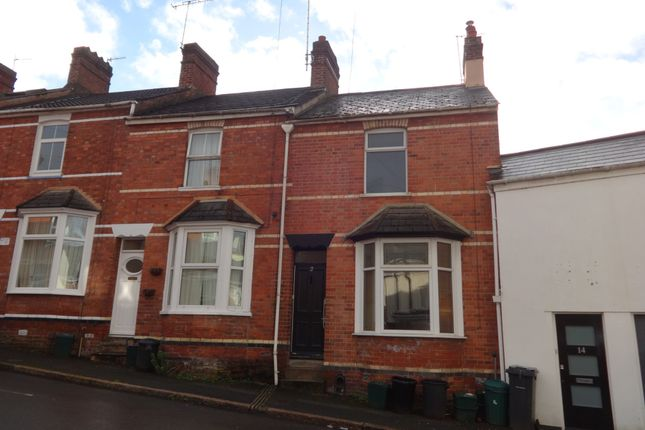 Thumbnail Terraced house to rent in Franklin Street, St. Leonards, Exeter