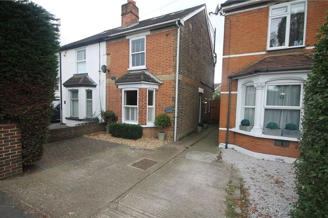Thumbnail Semi-detached house for sale in Chertsey Road, Addlestone, Surrey