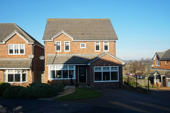 Thumbnail Detached house for sale in Wesley Lea, Consett