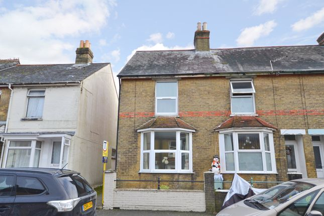 Thumbnail End terrace house to rent in Kings Road, East Cowes