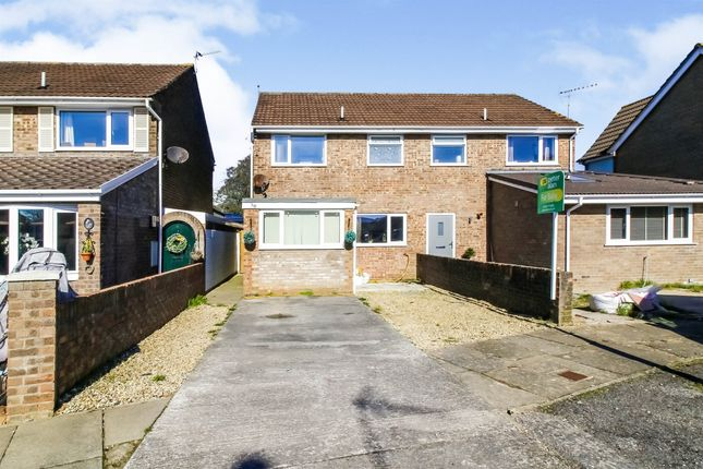 3 bed semi-detached house for sale in Bryneglwys Gardens, Porthcawl CF36