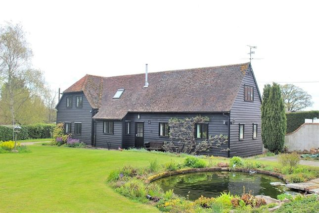 Thumbnail Barn conversion for sale in Dunmow Road, Great Easton, Dunmow