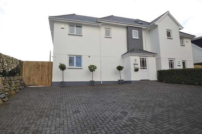 Thumbnail Semi-detached house for sale in Wheal Venture Road, Carbis Bay, St Ives