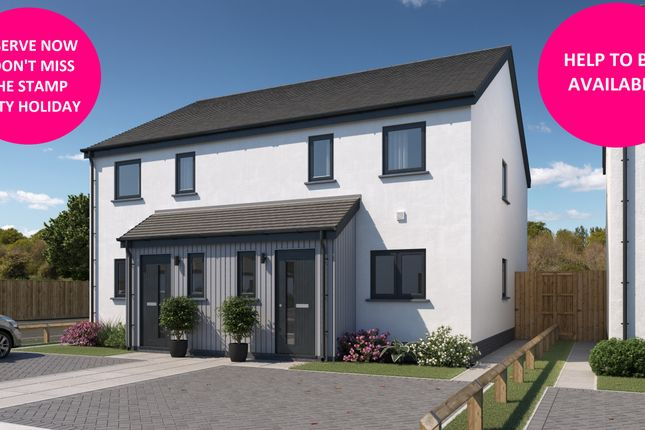2 bed semi-detached house for sale in New Homes At Stanley Court, Parkham, Bideford EX39