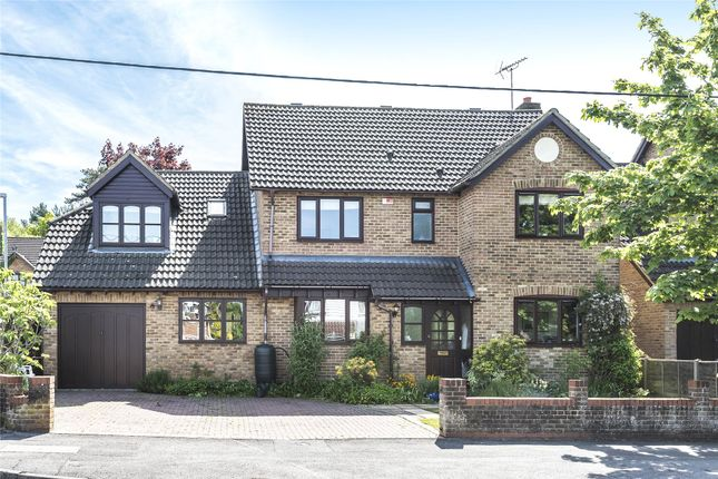 Thumbnail Detached house for sale in College Road, College Town, Sandhurst, Berkshire