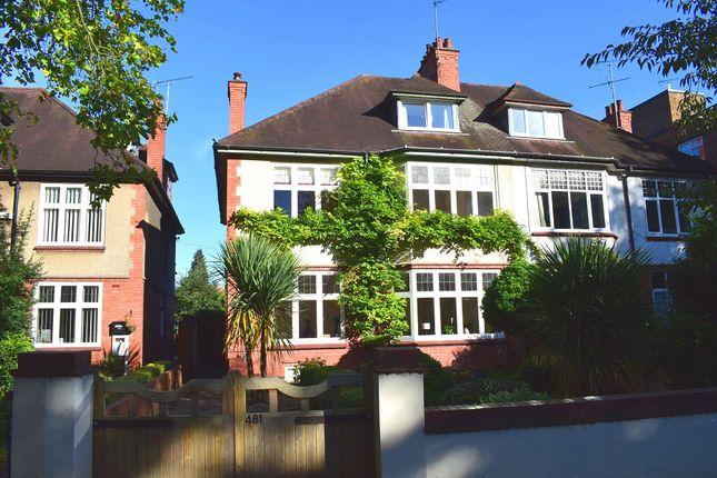 Thumbnail Semi-detached house to rent in Wellingborough Road, Northampton, Northamptonshire