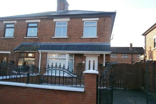 Thumbnail Semi-detached house to rent in Andersonstown Park, Belfast