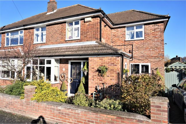 Thumbnail Semi-detached house for sale in Summerfield Close, Waltham