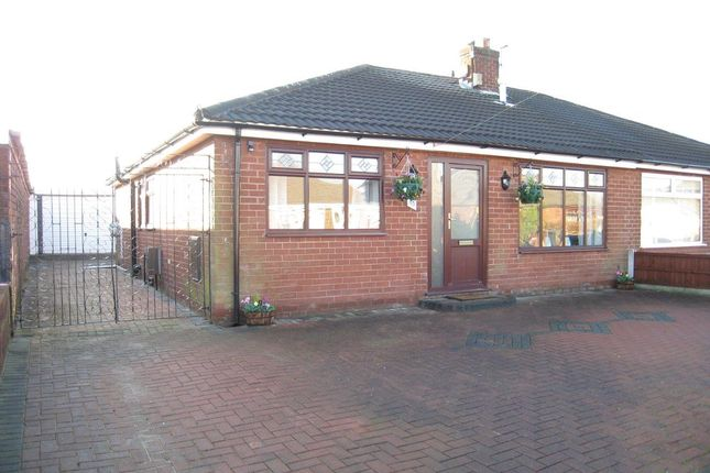 Thumbnail Semi-detached bungalow to rent in Scott Road, Lowton, Warrington