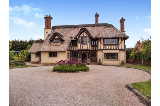 Thumbnail Detached house for sale in Sapcote Road, Hinckley