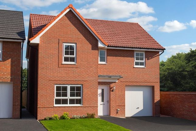 "Thumbnail Detached house for sale in ""Ripon"" at Dunsmore Avenue, Bingham, Nottingham"