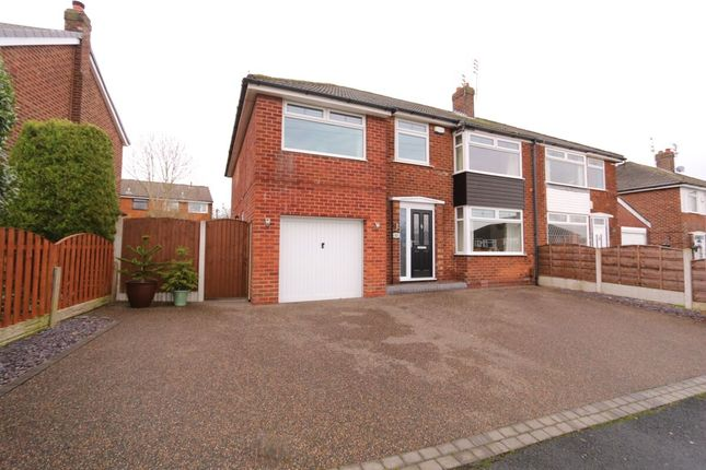 Thumbnail Semi-detached house for sale in Rivermead Road, Denton, Manchester