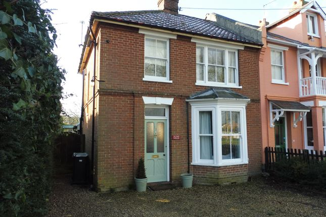 Thumbnail End terrace house for sale in Victoria Road, Diss