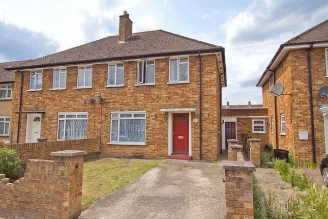 Thumbnail Semi-detached house to rent in New Peachey Lane, Cowley, Uxbridge