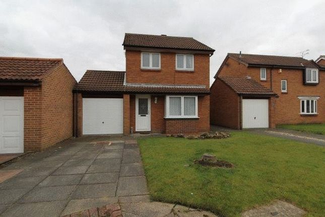 Thumbnail Detached house to rent in Downe Close, Blyth