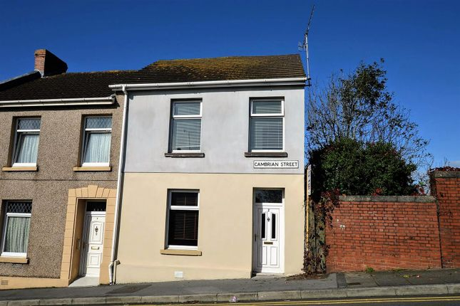Thumbnail End terrace house to rent in Cambrian Street, Llanelli