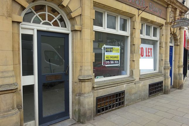 Thumbnail Restaurant/cafe to let in 33 Church Street, Mansfield, Nottinghamshire