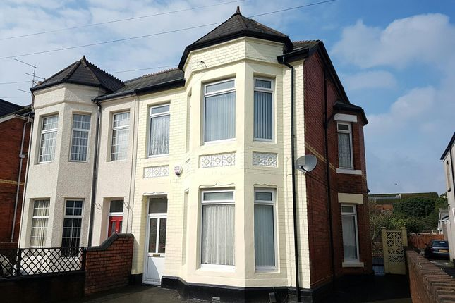 Thumbnail Semi-detached house to rent in Caerleon Road, Newport