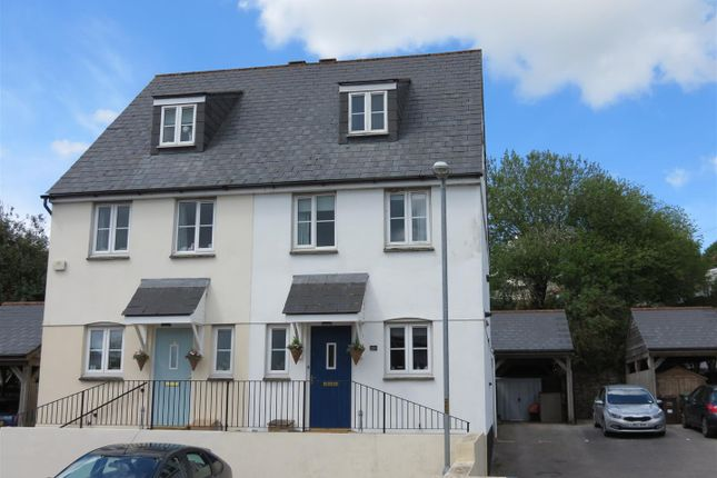 3 bed semi-detached house for sale in Lovering Road, St Austell, St. Austell PL25
