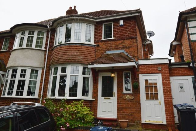 Thumbnail Semi-detached house for sale in Knightwick Crescent, Erdington, Birmingham