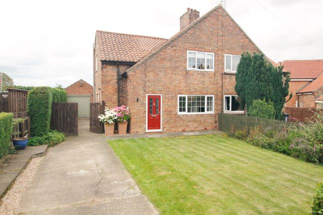 Thumbnail Semi-detached house for sale in Arrows Terrace, Boroughbridge, York