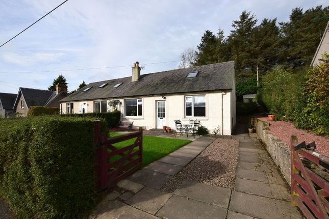 Thumbnail Semi-detached house for sale in Chesters Brae, Chesters, Nr Hawick